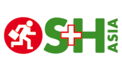 Logo: OS+H Asia (Occupational Safety + Health Exhibition for Asia)