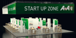 Graphik: Stand Start-Up-Zone