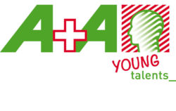 Logo: A+A Querformat (Young talents_)