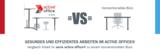Infografik: Gesundes und effizientes Arbeiten im active office