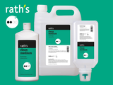 rath's clean medium - hand cleanser