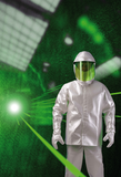 Textile laser protection