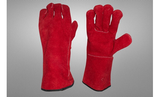 'Coloured Split Welding Glove with black drill lining'