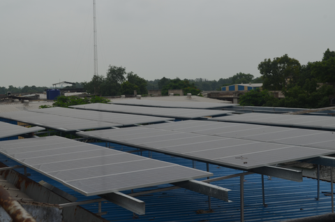 100% Solar Backup and Waste Reduction