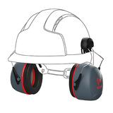 Sonis®3 Helmet Mounted Ear Defenders