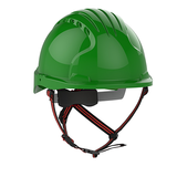 EVO®5 DualSwitch™ Industrial Climbing Helmet - Green