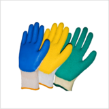 Natural Rubber and Nitrile Gloves
