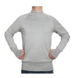 001 - Seamless knitted cut resistant sweatshirt