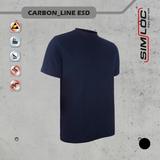 SIMLOC CARBON LINE ESD T-shirt