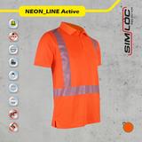SIMLOC NEON_LINE ACTIVE Poloshirt