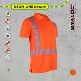 SIMLOC NEON_LINE Nature Polo-Shirt