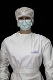 Garments for partial protection of the body against chemical aggressions