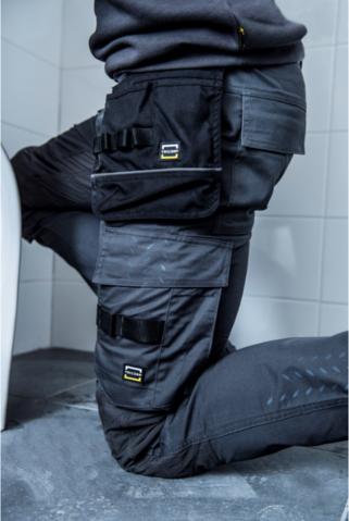 Workwear Werkbroek Twill Cordura Stretch 502020