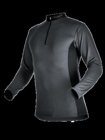 Zipp-Neck Shirt langarm