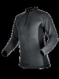 Zip-Neck Shirt long-sleeved