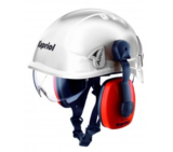 Helmet for work at a height