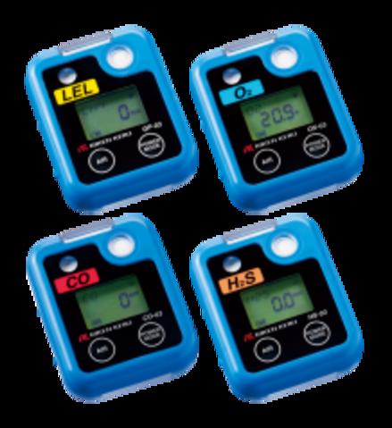 03 Series Single Gas Personal Monitors
