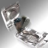 RPU one-density direct injection mould