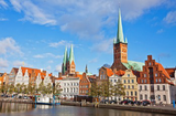 lubeck old town germany
