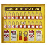 lock station with cover