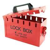 portable group lock box