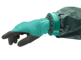 AlphaTec 58 735 Sea Green Shell Anthracite Grey Product Glove Connector