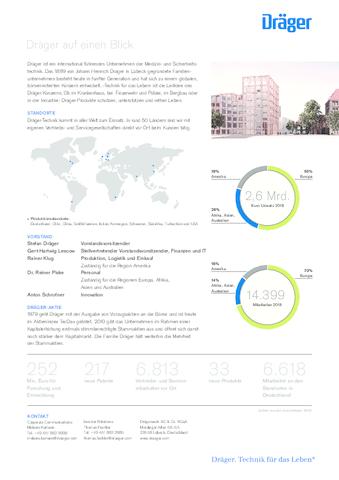 Draeger Fact Sheet de