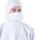 BioClean™ Non-sterile DB Pouch-style Face mask with Neck Guard BDBN-G