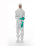 BioClean-D Sterile Coverall with Hood & Integrated Boots