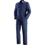 BLUE COVERALL FOR WORKER