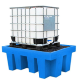 Single IBC Spill Pallet with Removable Deck - BB1