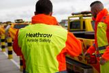 Heathrow Airport Warnschutzbekleidung