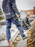 Dachdecker in Viking Rubber Co. Arbeitskleidung