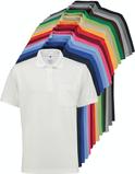Farbpalette Poloshirts Bioactive