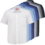 Farbpalette Hemden kurzarm