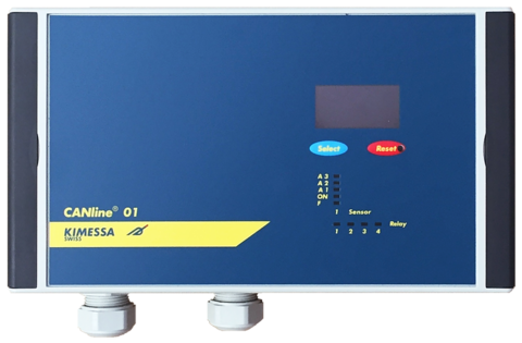 1-channel Gas monitor CANline 01