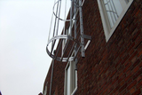 Daksafe® cage and facade ladders