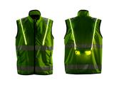 High vis LED waistcoat
