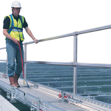 general building equipment spandeck with lifeline