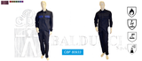 Trivalent suit multinorm: EN ISO 11611, UNI EN 1149, EN ISO 11612, EN ISO 13034 (CBF 80933)