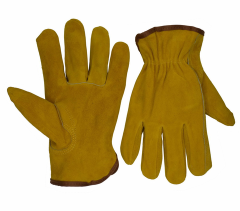 1241 OEM Cowhide Leather Construction Hand Protection Men Industrial Gloves