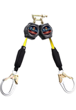 6'(1.8m) Webbing Self-Retracting Lifeline FS8003-Twin SRL