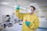 Kleidung und Bekleidungszubehör wasser- und chemisch beständig
