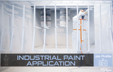 INDUSTRIAL PAINT APPLICATION - PROFESSION SHEET FLYER