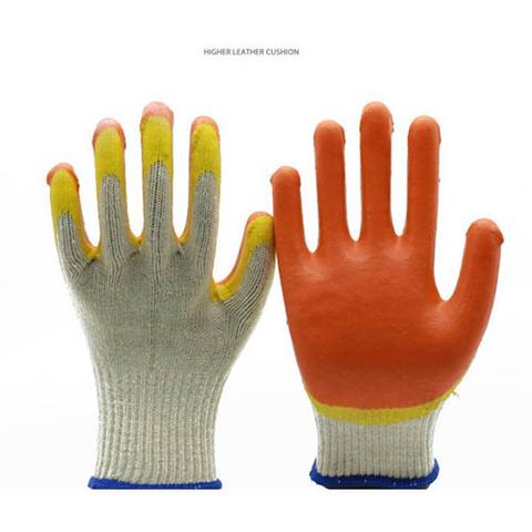 10 gauge double color glove