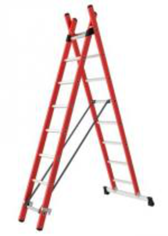 2-SECTION COMBINATION INSULATED LADDER