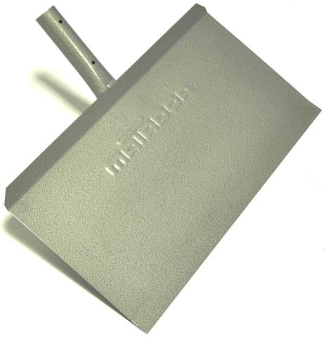 12262 Snow shovel without a stick colour grey, Productgroup: Building & Logistical equipment