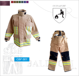 Brandschutzanzug EN ISO 469:2007 (CBF 001)