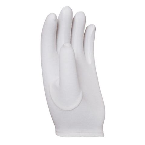 100% Baumwolle Interlock Weiß Fourchette