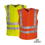 E.COOLINE PowerSignal Vest SX3 signal yellow and orange
